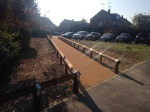 Resin bonded footway for Archer Consultancy - Moulsham High School Chelmsford